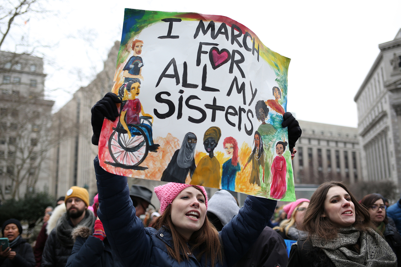 Women's March Unity Rally Foley Square 1/19/19
