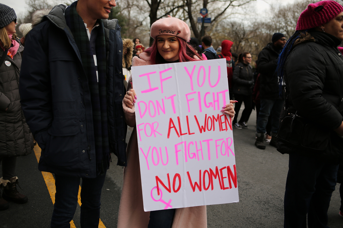 Women's March NYC 1/19/19
