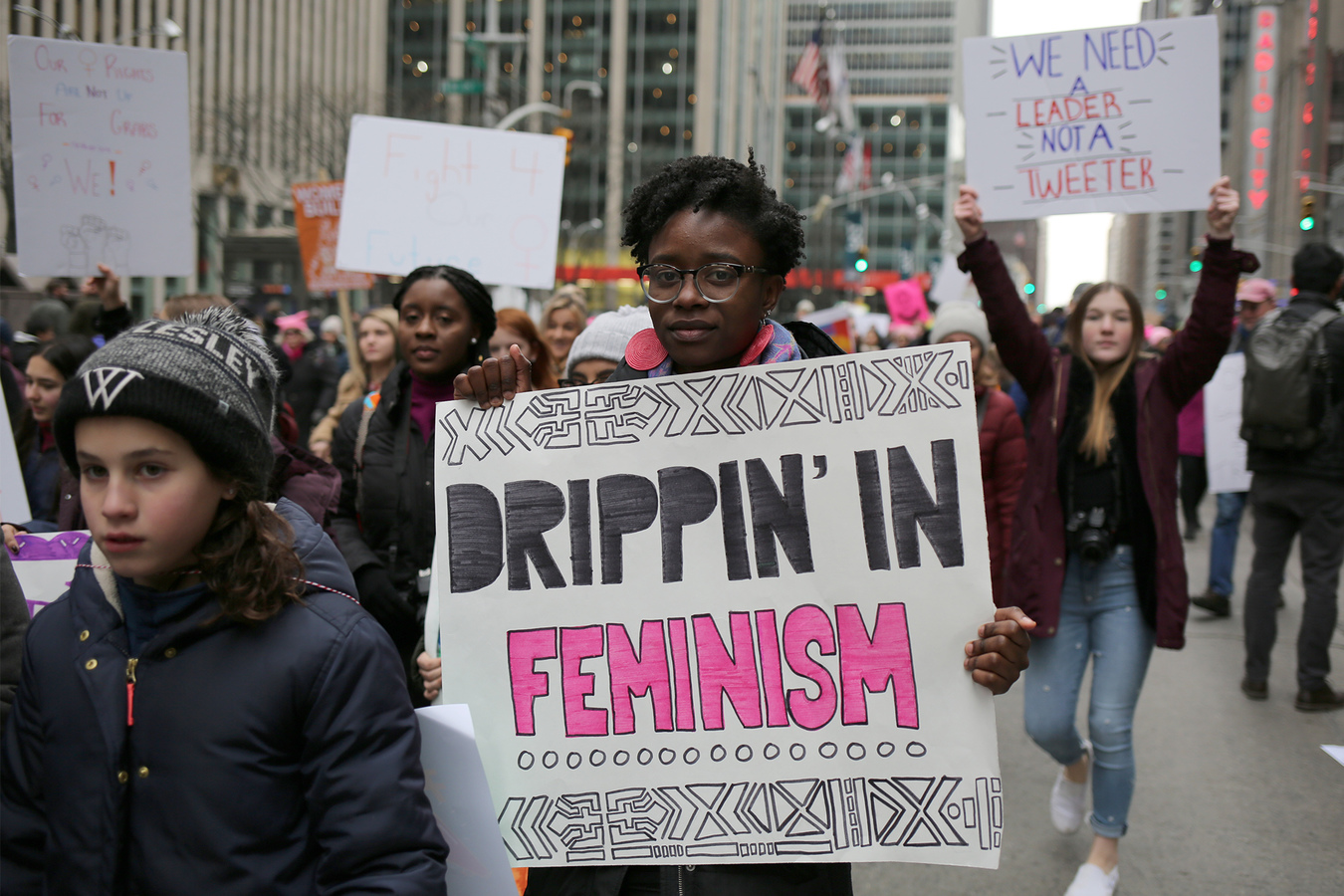USA 2017- Women's March NYC 1/19/19