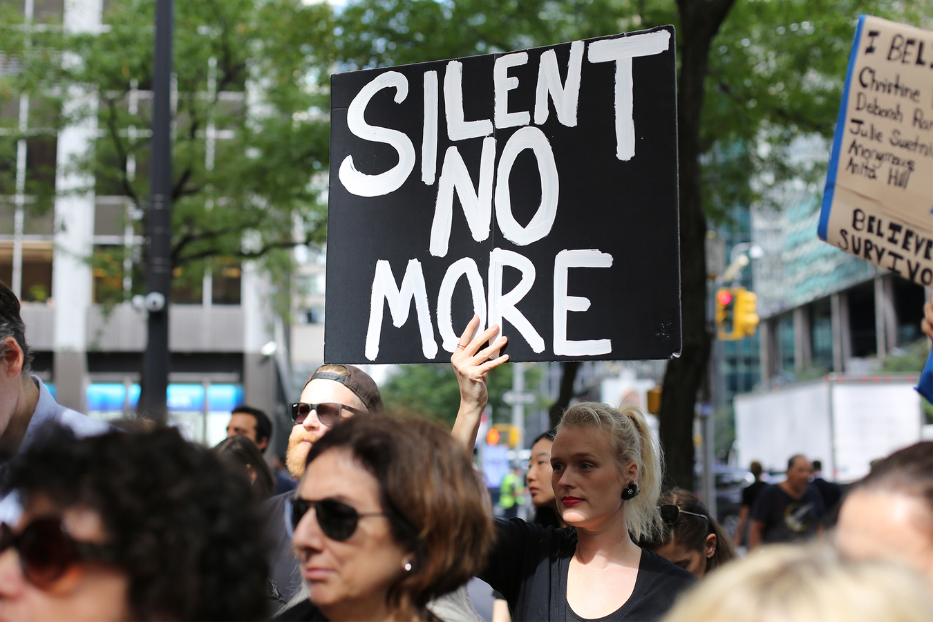 Cancel Kavanaugh: #BelieveSurvivors Solidarity Speakout Chuck Schumer's NYC Office 9/27/18