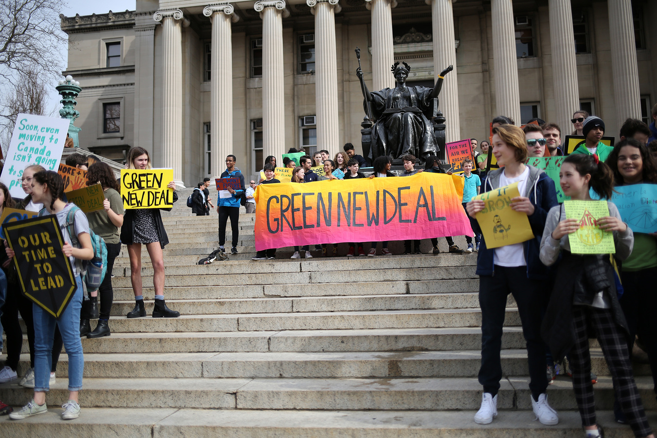 Youth Climate Strike NYC 3/15/19 Columbia University