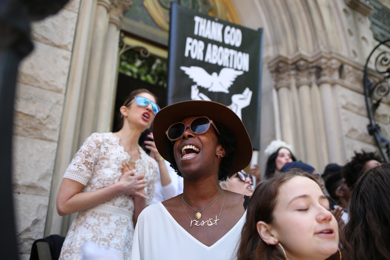 StopTheBans- Middle Collegiate Church NYC 5/21/19 The Resistance Revival Chorus