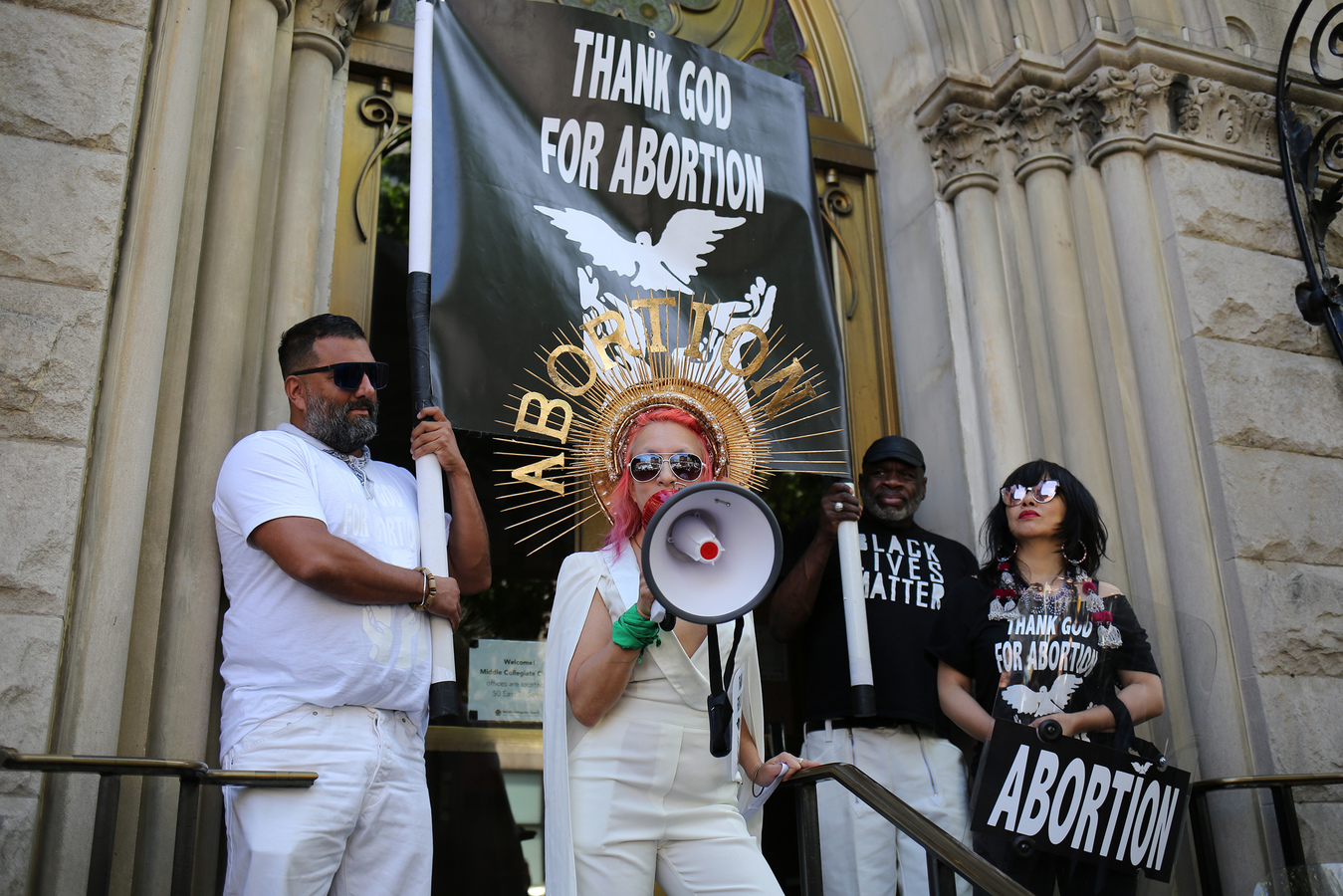 USA 2017- StopTheBans- Middle Collegiate Church NYC 5/21/19