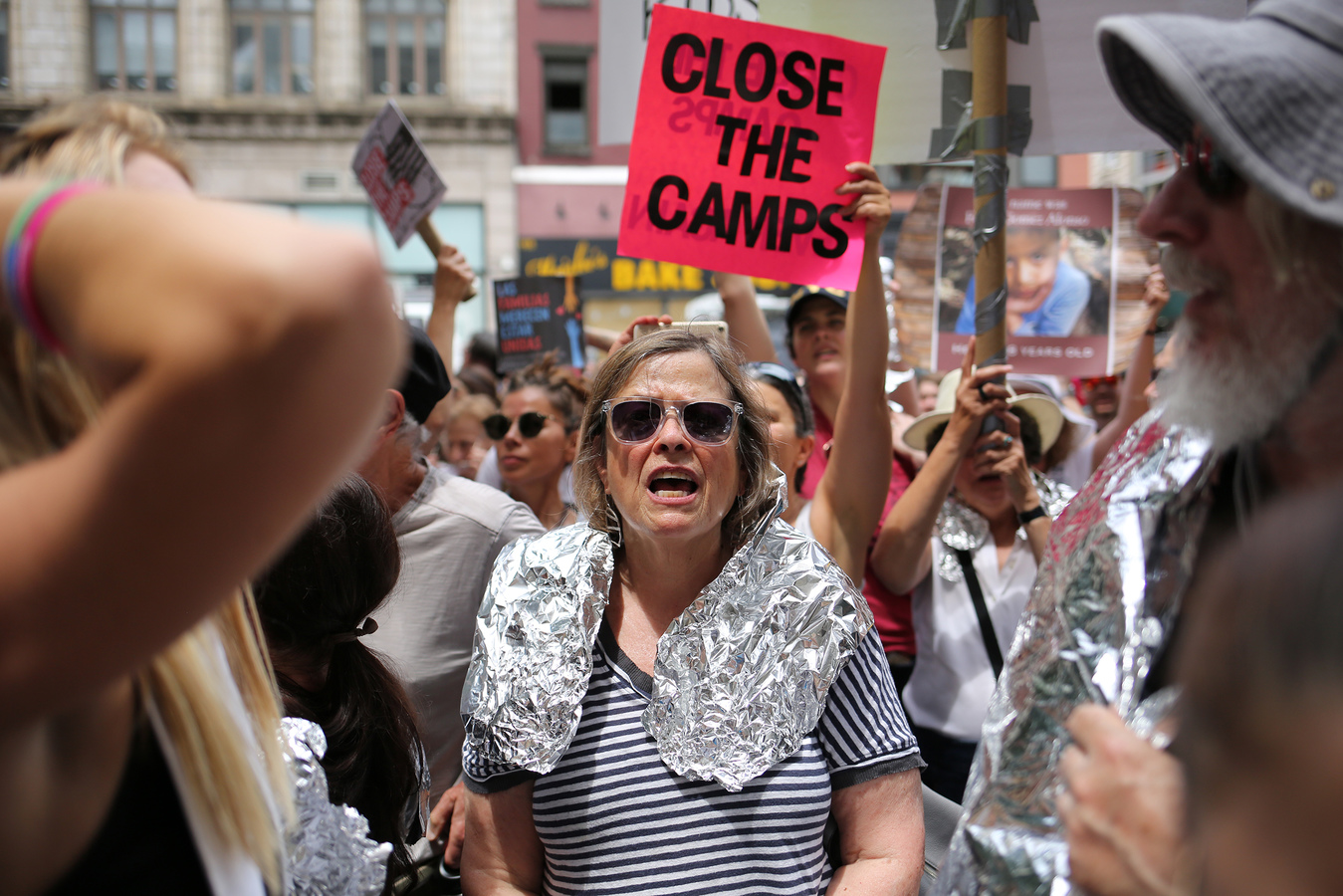Close The Camps Middle Collegiate Church 7/2/19
