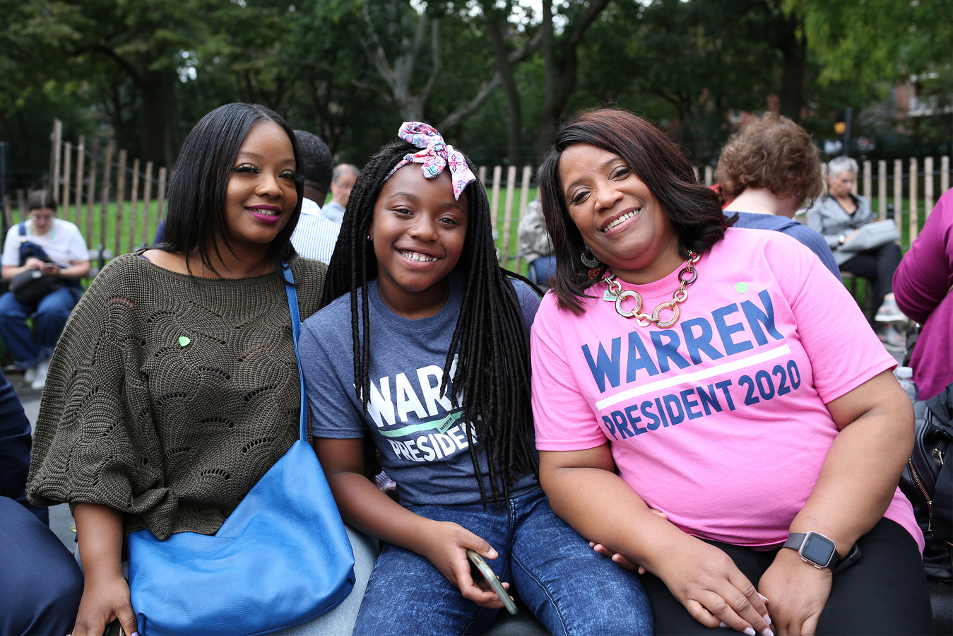 Elizabeth Warren Rally Washington Square Park 9/16/19