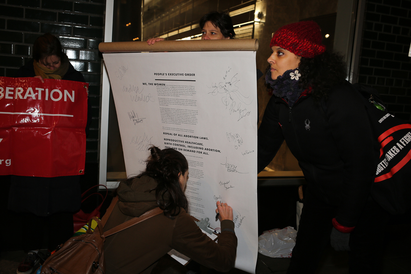 National Women's Liberation People's Executive Order to Repeal All Abortion Laws NYC Office of the Governor 11/12/19