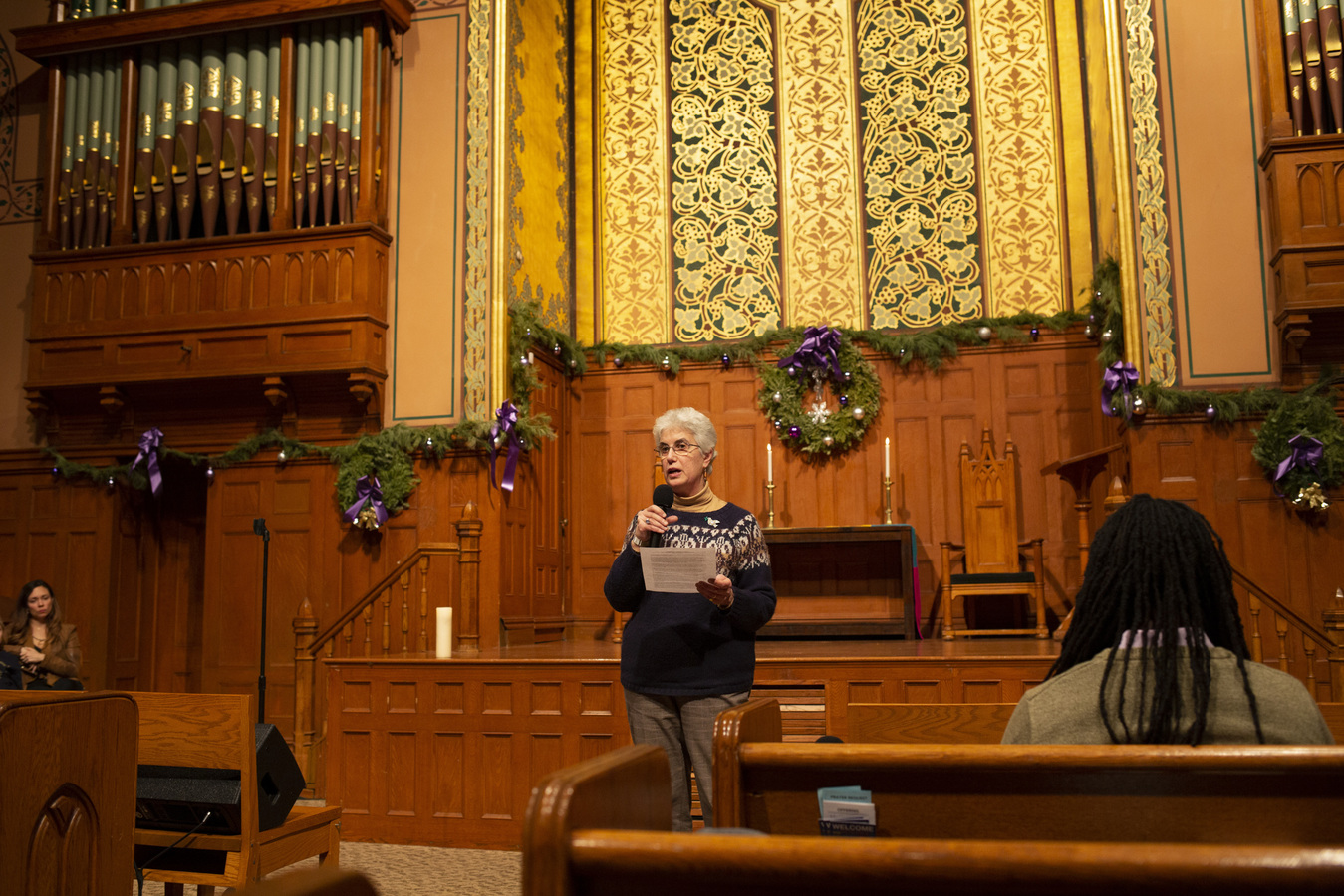 Say No To War Interfaith Peace Vigil Middle Collegiate Church 1/7/20 Rosemarie Pace, ED of Pax Christi Metro New York/Catholic Peace Movement