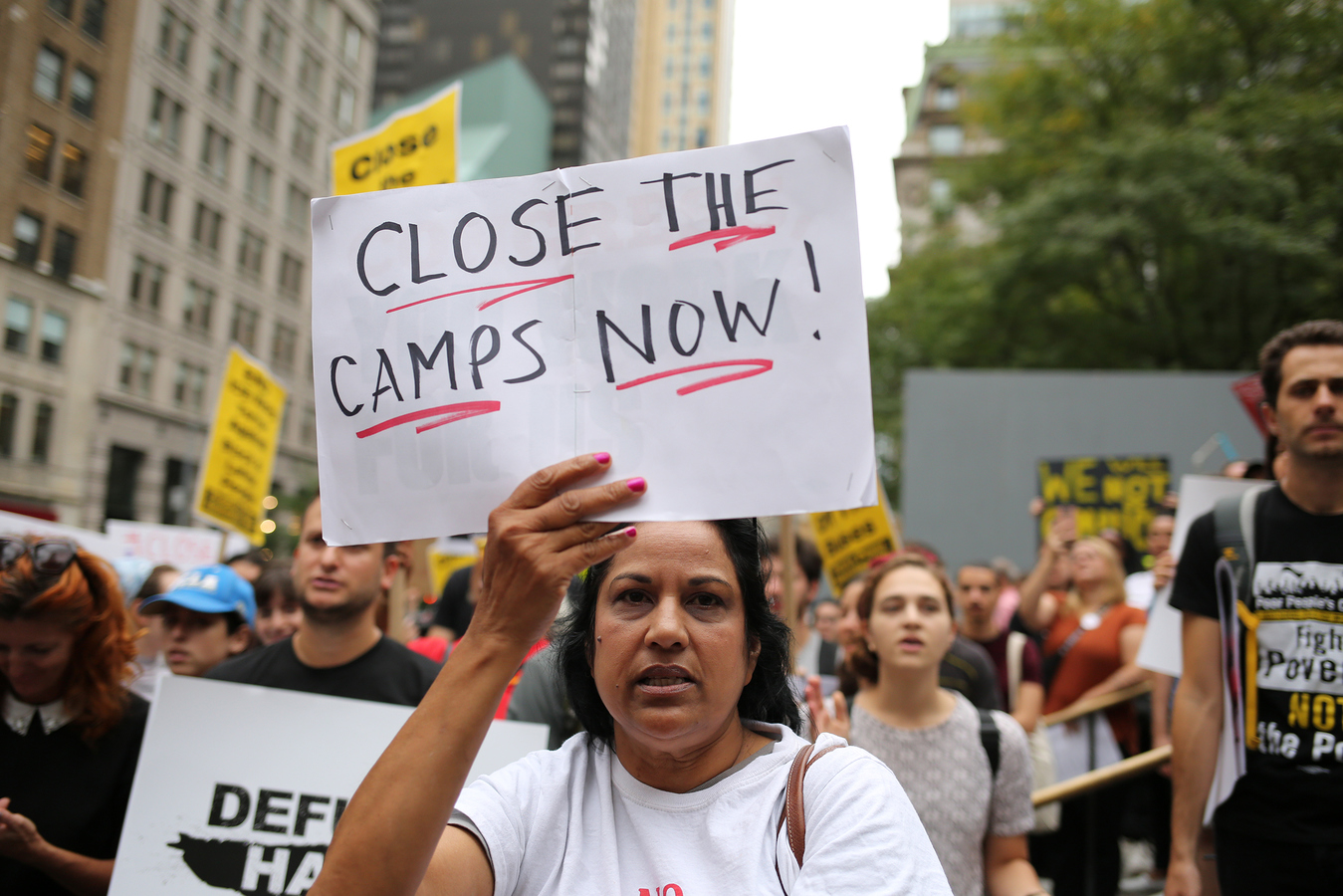Current Project Close The Camps No Business With ICE Microsoft Flapship Store NYC 9/14/19