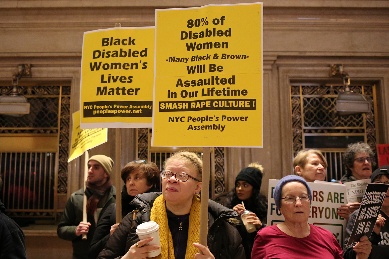 Other Protests Non-March For Women Grand Central Station 1/19/19