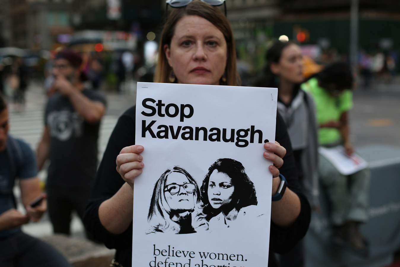 More Kavanaugh Protests No Justice No Seat March on the Yale Club 10/1/18