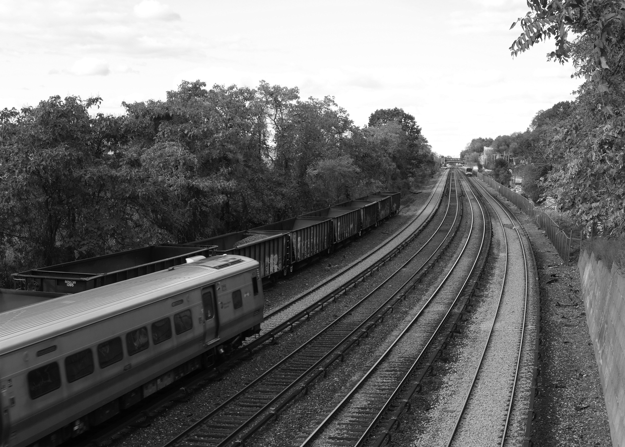 Portfolio Hudson Line, Departing Hastings #5