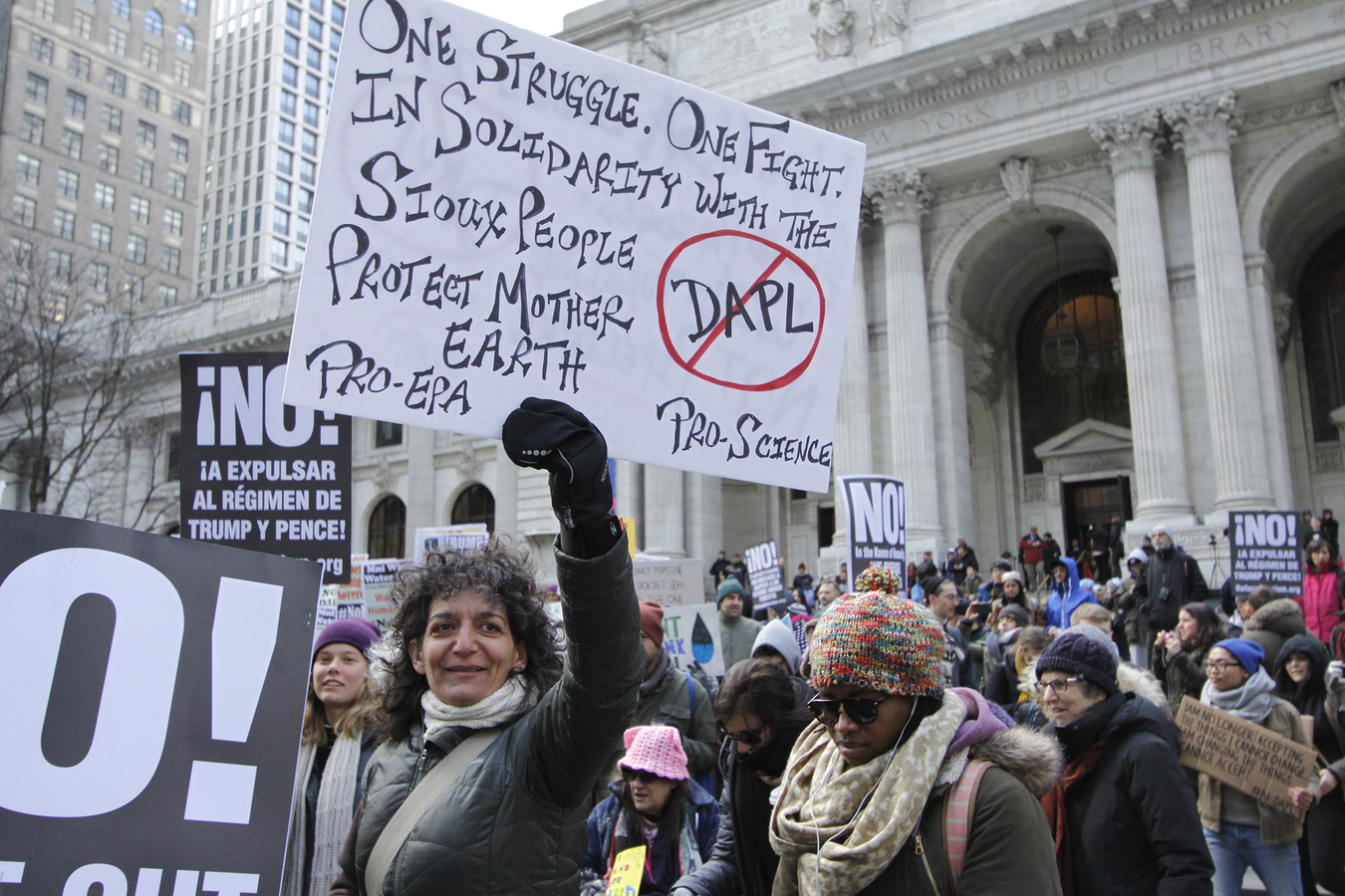 Other Protests March 4th for Standing Rock NYC 3/4/17