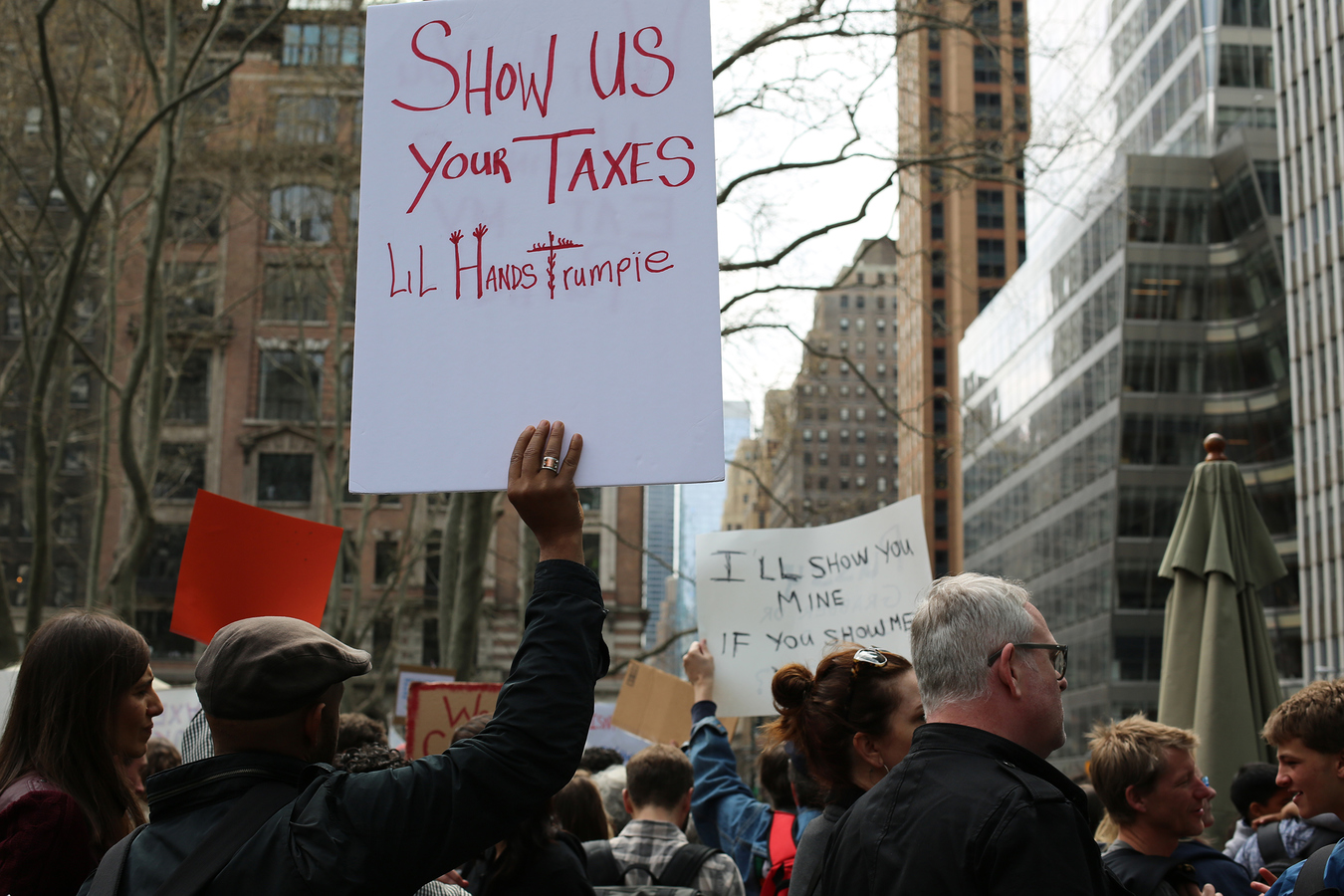 Other Protests  Tax March NYC 4/15/17