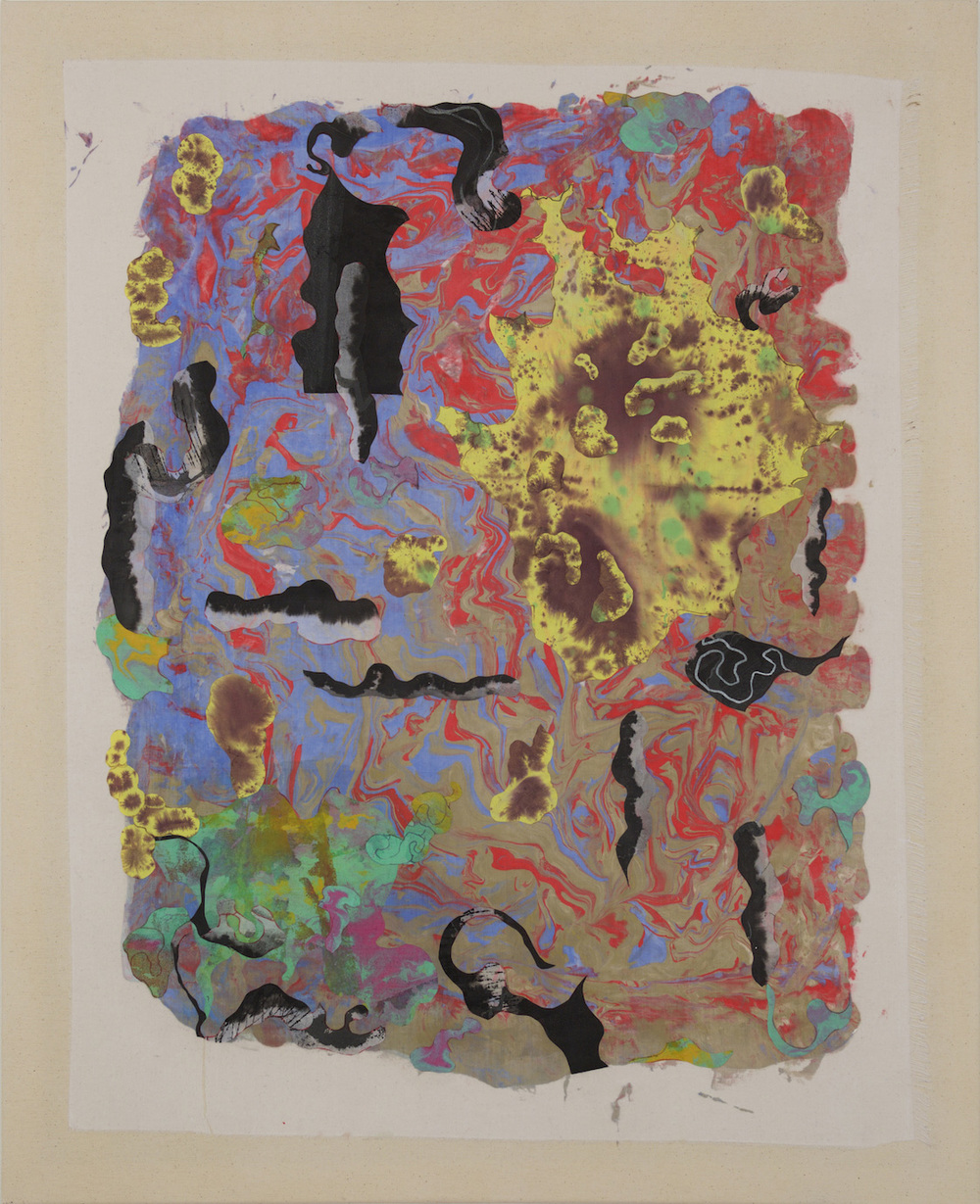 Gina Ruggeri Paintings 2002–2015 Acrylic and ink on cloth