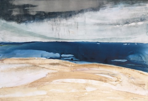 GINNY ZANGER SHORE  Watercolor