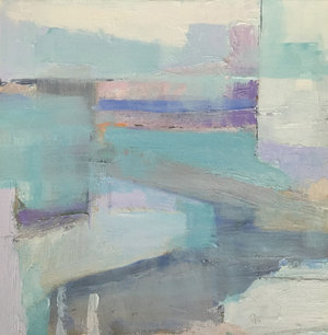 DANA GOODFELLOW ABSTRACT EXPRESSIONS OIL