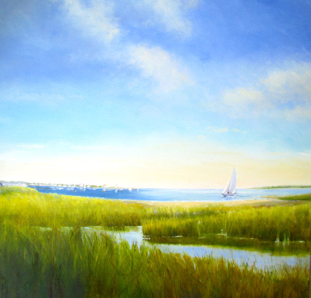 DANA GOODFELLOW SEA AND WETLANDS OIL