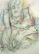 gordon fraser Various Works on Paper 2005-2007 Charcoal and Pastel