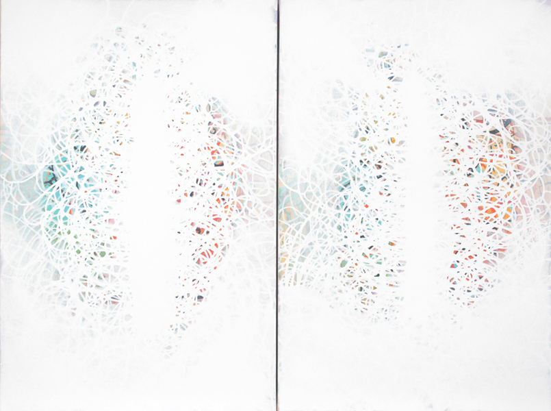 2015 medium of contrast (diptych)