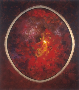 Harry Powers Cosmology Oil on canvas