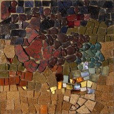 Harry Powers Cosmology Stone Mosaic