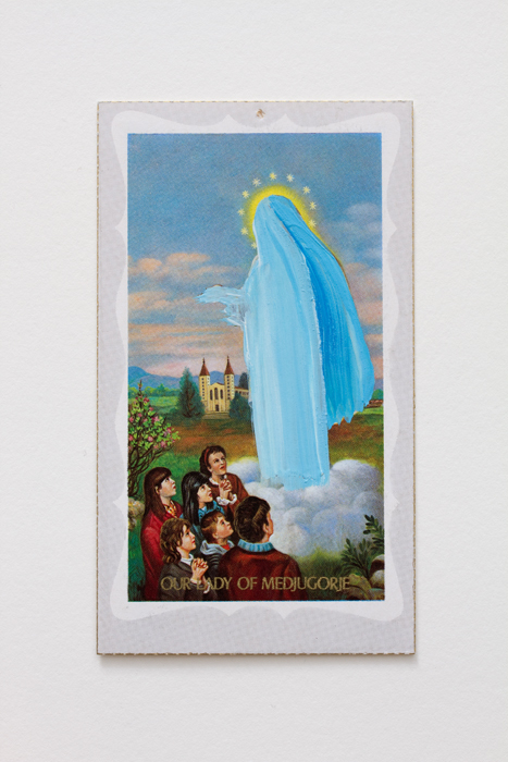 "Apparition Hill, 2014 ""In which the most vivid shades were blues "" (Our Lady of Medjugorje)"