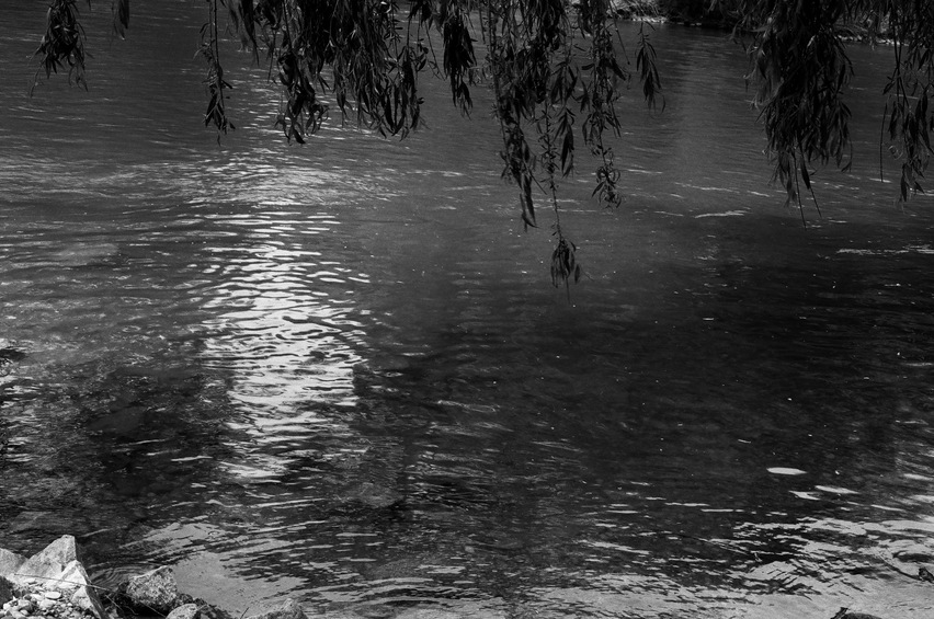 heather sheehan Washday on the River B&W 35mm Film Photography