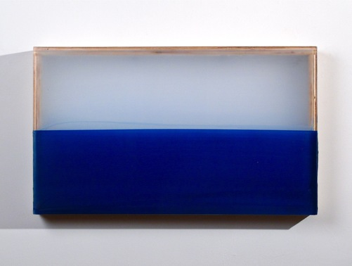HEATHER  HUTCHISON WORKS 2010-2014 Plexiglas, birch, pigment, beeswax, enamel