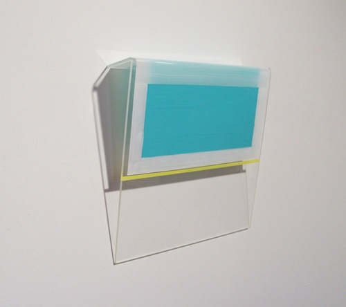 HEATHER  HUTCHISON WORKS 2010-2014 Enamel on Acrylic Sheet
