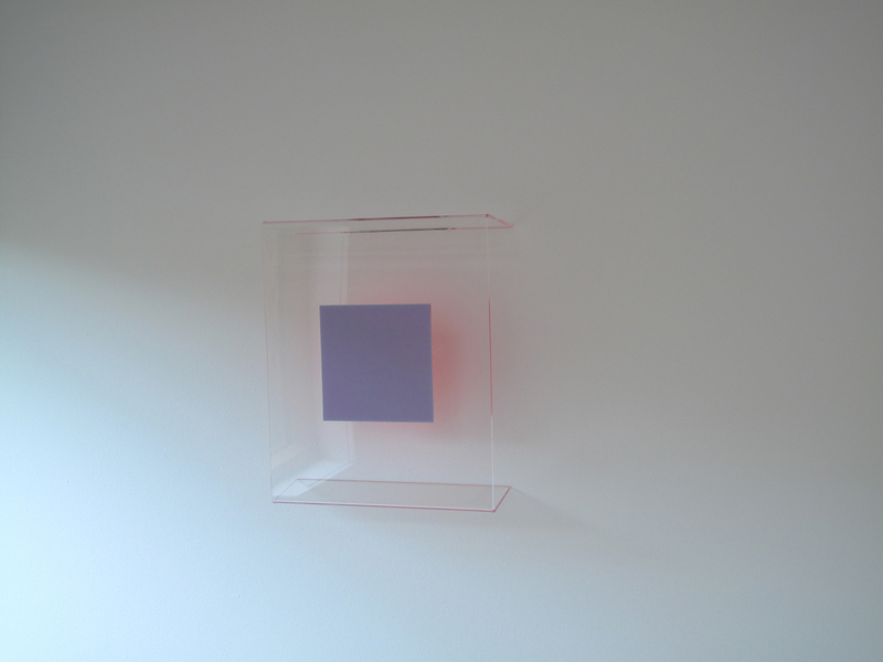 HEATHER  HUTCHISON WORKS 2010-2014 Plexiglas, Pantone, Flashe
