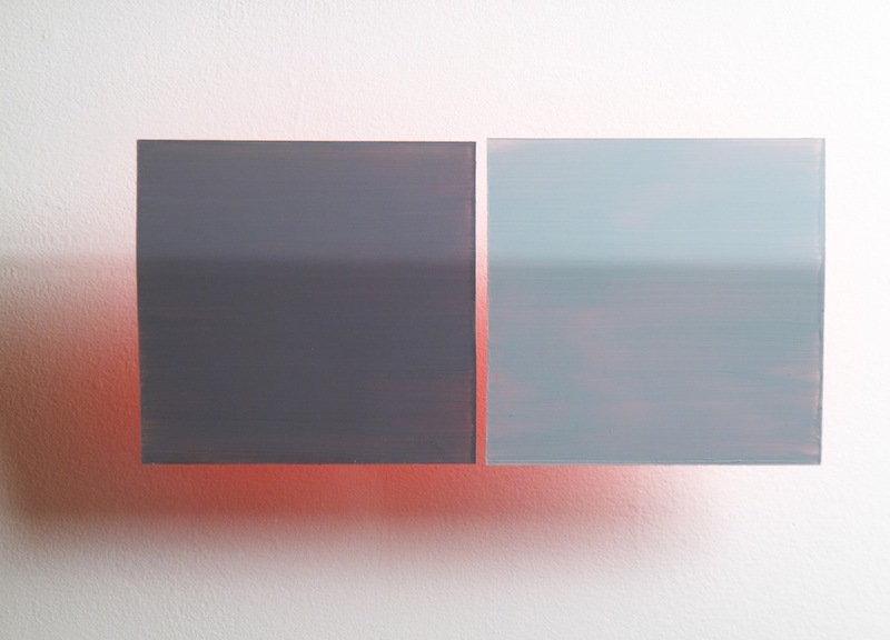 HEATHER  HUTCHISON WORKS 2010-2014 Flashe and Aura on Plexiglas
