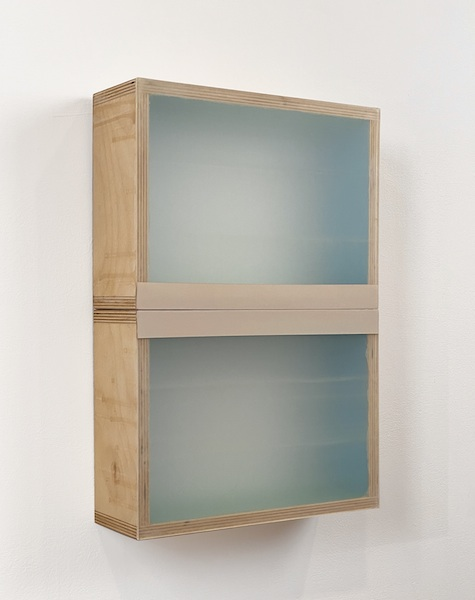 HEATHER  HUTCHISON WORKS 2015-2020 Mixed media, reclaimed Plexiglas, birch plywood box