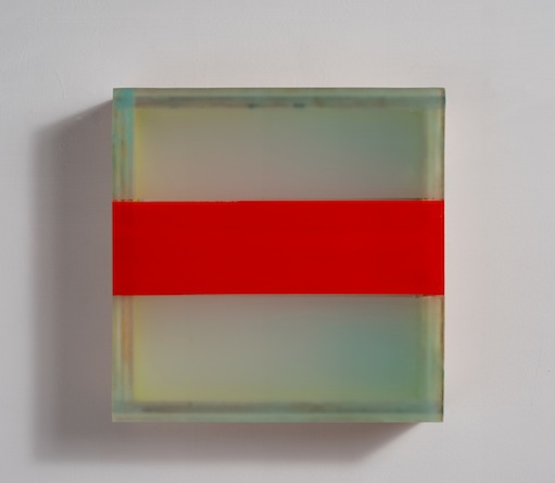 HEATHER  HUTCHISON WORKS 2010-2014 Plexiglas, beeswax, birch, pigment, enamel