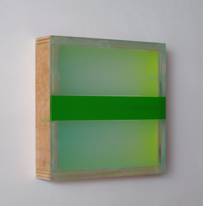 HEATHER  HUTCHISON WORKS 2010-2014 Plexiglas, beeswax, birch, pigment, enamel, vinyl