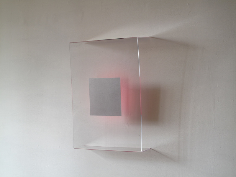 HEATHER  HUTCHISON WORKS 2010-2014 Plexiglas, flashe, Pantone