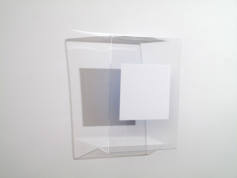 HEATHER  HUTCHISON WORKS 2010-2014 Plexiglas, Form-X film, enamel.