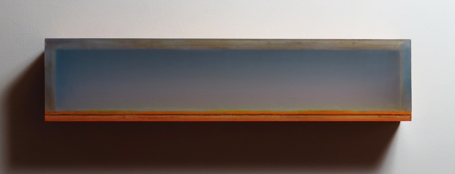 HEATHER  HUTCHISON WORKS 2015-2019 Plexiglas, birch, beeswax, pigment, Flashe,tape
