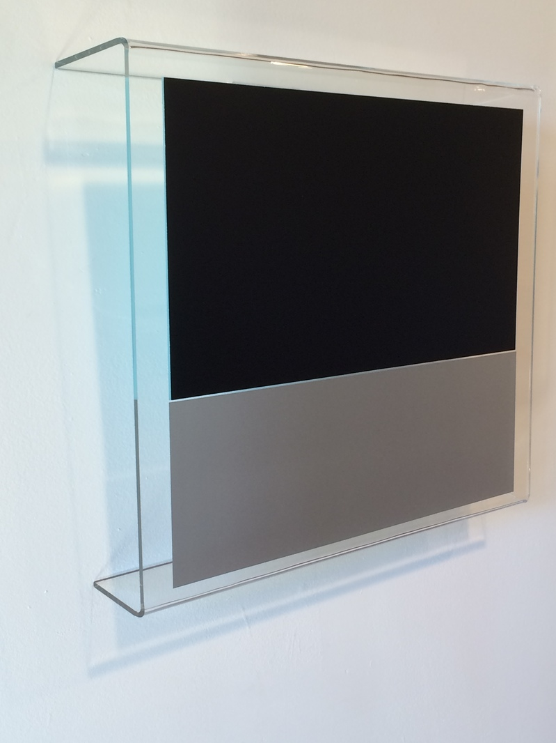 HEATHER  HUTCHISON WORKS 2015-2020 Plexiglas, Enamel, Film