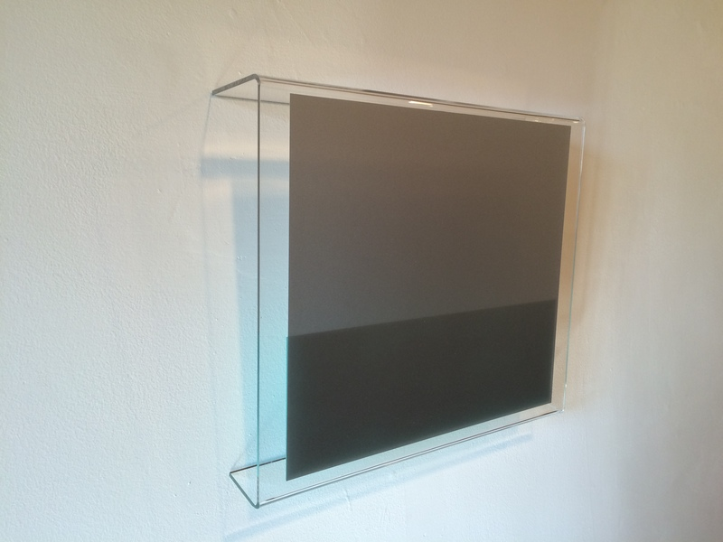 HEATHER  HUTCHISON WORKS 2015-2019 Plexiglas, enamel, film
