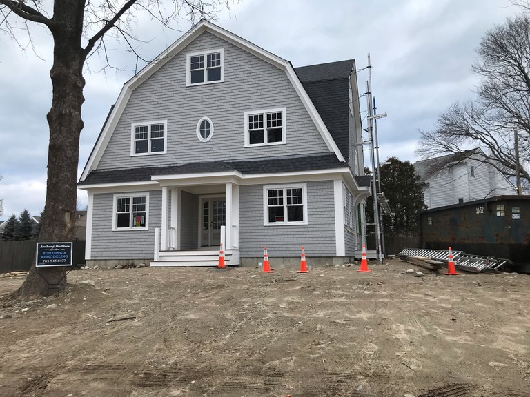 Heidi Condon Residential Design                                                                                  Cohasset, Hingham, Scituate, Duxbury Construction Progress