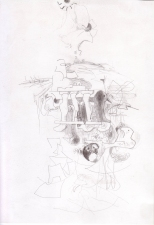 Helen Beckman DRAWINGS pencil on bristol