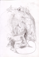 Helen Beckman DRAWINGS pencil