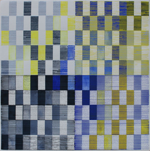 Helen Ireland Colour Grid Landscape Series            Gouaches 2019 gouache on paper