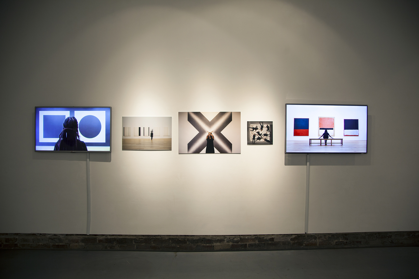 "Refiguring the Canon Installation view of ""Refiguring the Canon"" during my 2018 solo exhibition at Hamiltonian Gallery in Washington, DC"