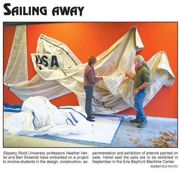 Sailcloth Art Project
