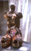 HJ BOTT  BEFORE DoV; earlier than March 7, 1972   originally in wax pellets then patinated bronze