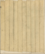 HJ BOTT  BEFORE DoV; earlier than March 7, 1972   masking tape and graphite on paper