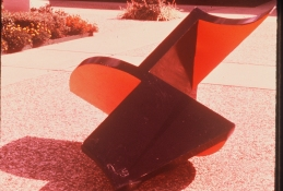 HJ BOTT 	SCULPTURE, DoV acrylic enamel on welded mild steel
