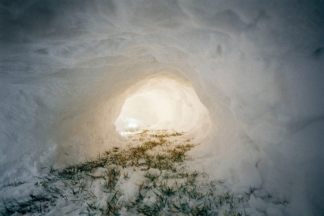 SOLID GROUND Tunnel, 2005, C-print.
