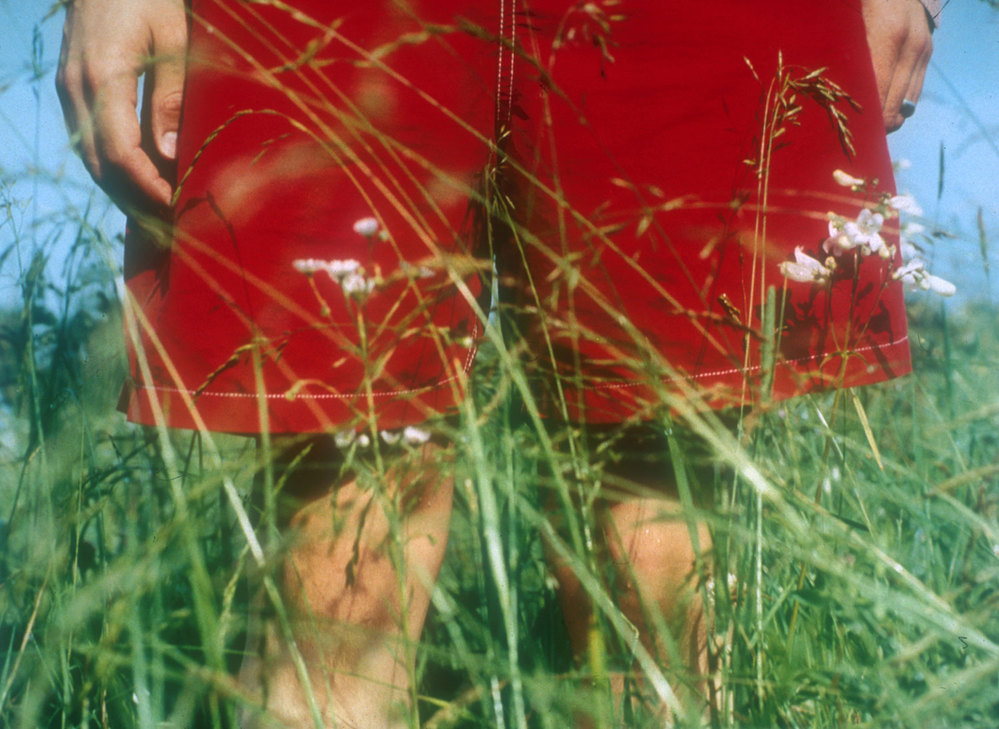 IN BETWEEN Untitled #2 [red shorts], 1998, C-print.